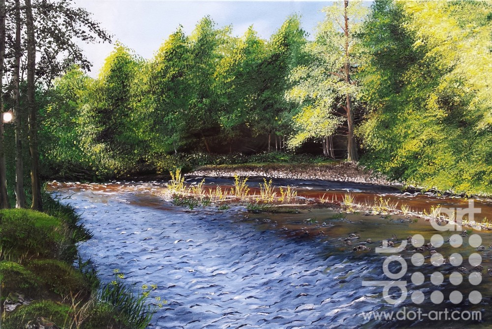 River Druie by Hazel Thomson