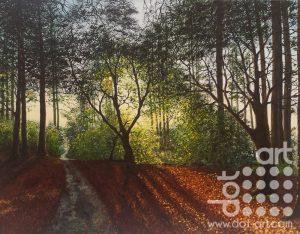 Shades of Autumn by Hazel Thomson