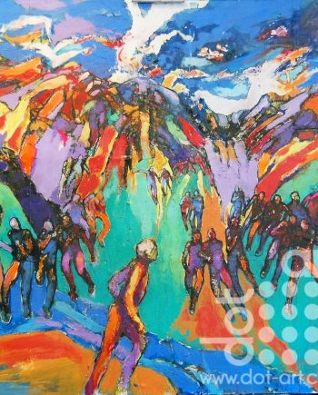 coming around the mountains 51 by david brightmore