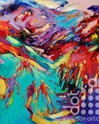 coming around the mountains 52 by david brightmore