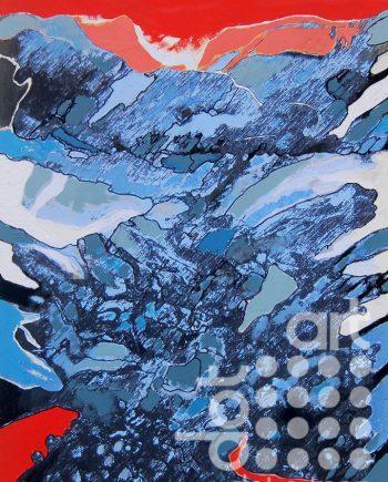 big mountain drawing 2 by david brighmore
