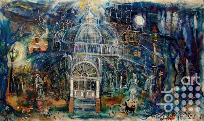 Midnight Palmhouse by Susan Finch