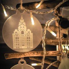 dot-art Christmas Bauble