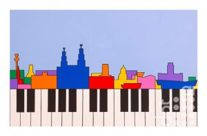 Liverpool Composition (Synaesthesia 2) by Ali Barker