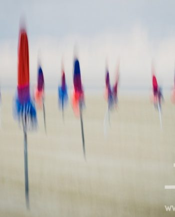 Deauville Parasols I by