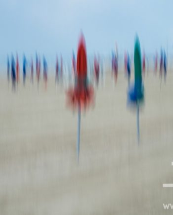 Deauville Parasols III by
