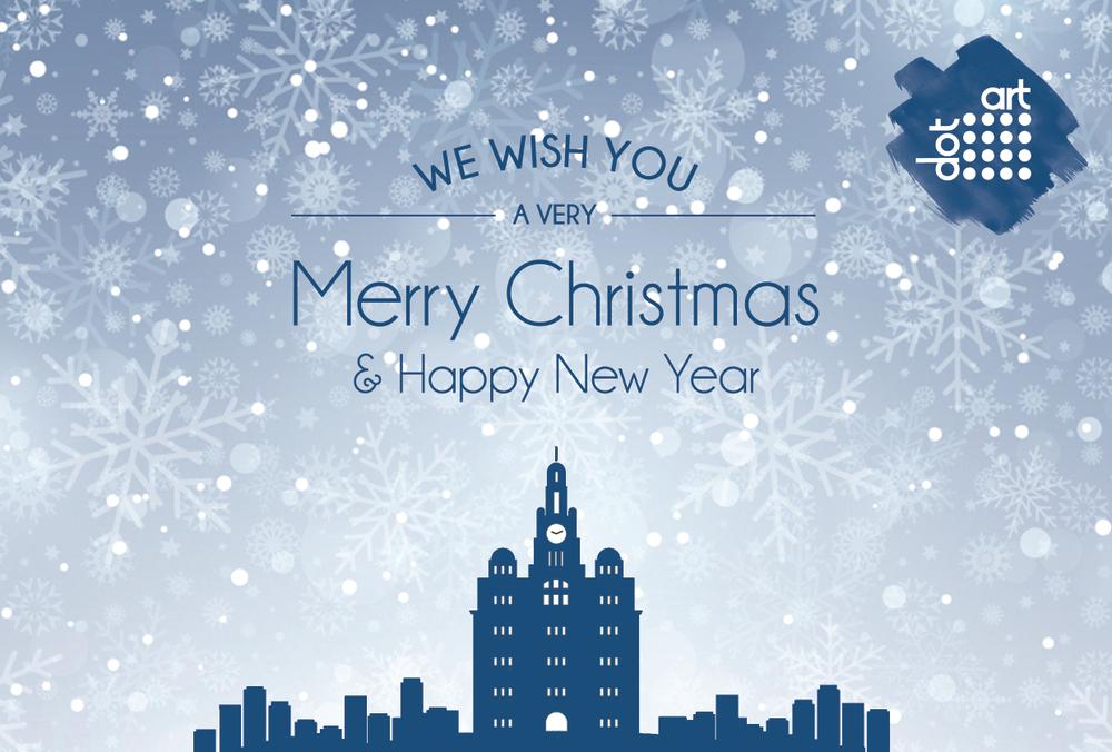 dot-art Merry Christmas