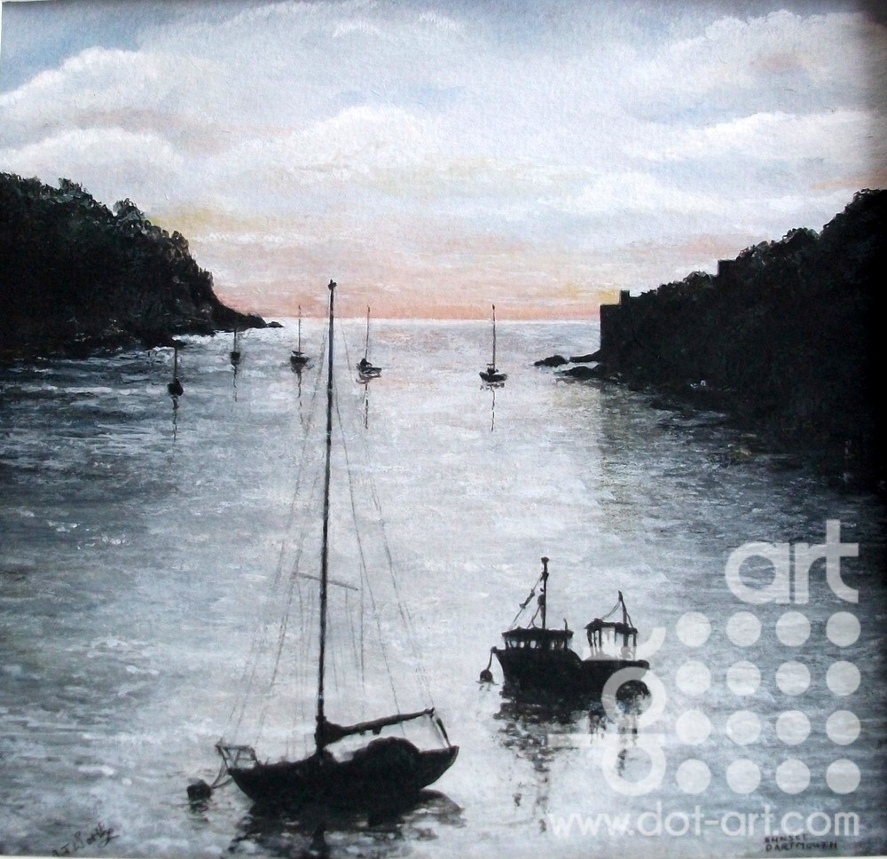 Dartmouth Harbour Entrance by