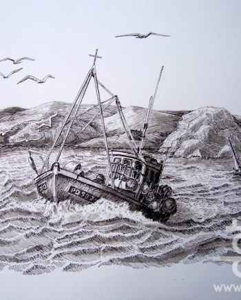 Fishing Boat by