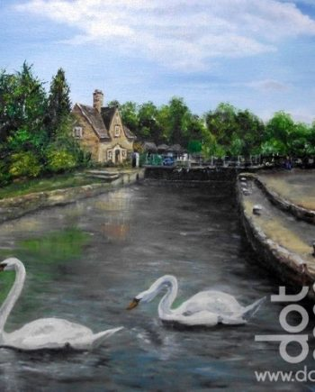Iffley Lock by Beryl Jean Worth