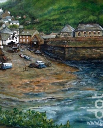 Port Issaac by Beryl Jean Worth