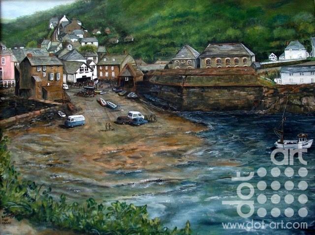 Port Issaac by Beryl Jean Worth