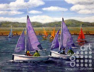 West Kirby Marina by Beryl Jean Worth