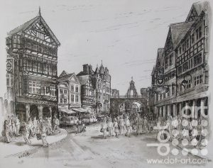 Chester by Beryl Jean Worth