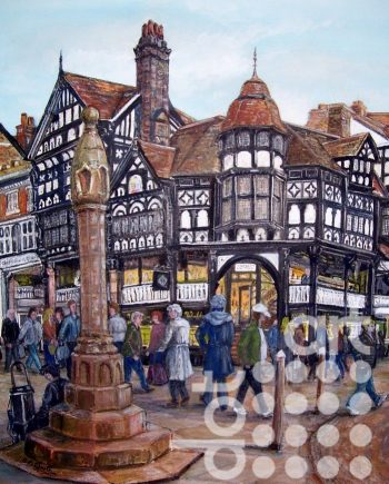 Chester Cross by Beryl Jean Worth