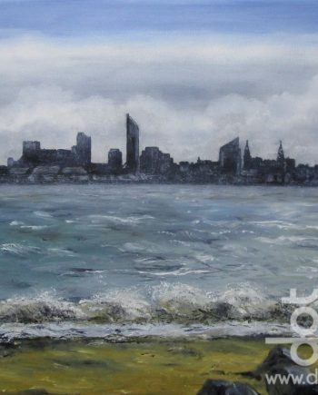 Liverpool Skyline by Beryl Jean Worth