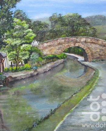 Llangollen Canal by Beryl Jean Worth
