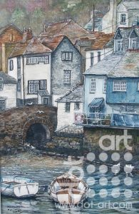 Polperro by Beryl Jean Worth