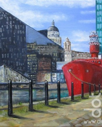 The Bar Lightship by Beryl Jean Worth