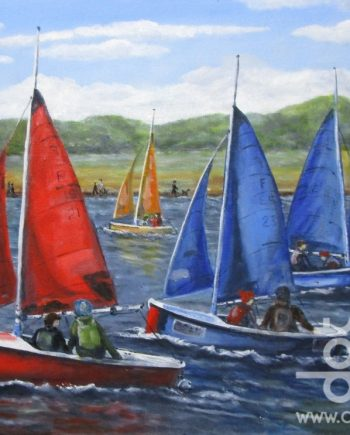 West Kirby Marina 2 by Beryl Jean Worth