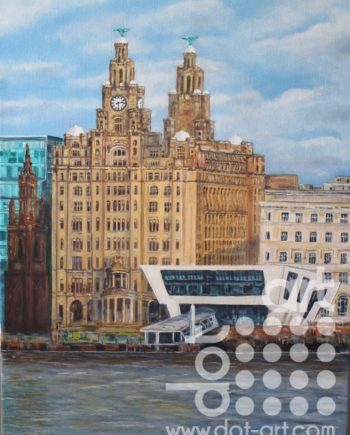 Pier Head by Beryl Jean Worth