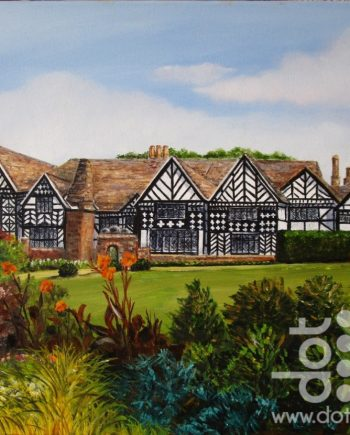 Speke Hall by Beryl Jean Worth