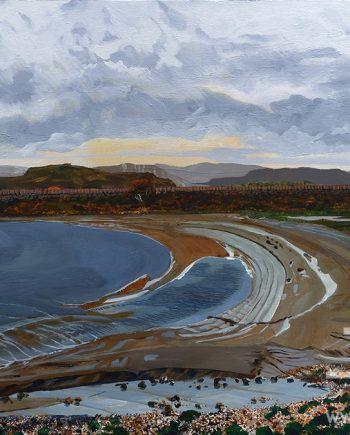 Arnside Looking East by Rob Edmondson