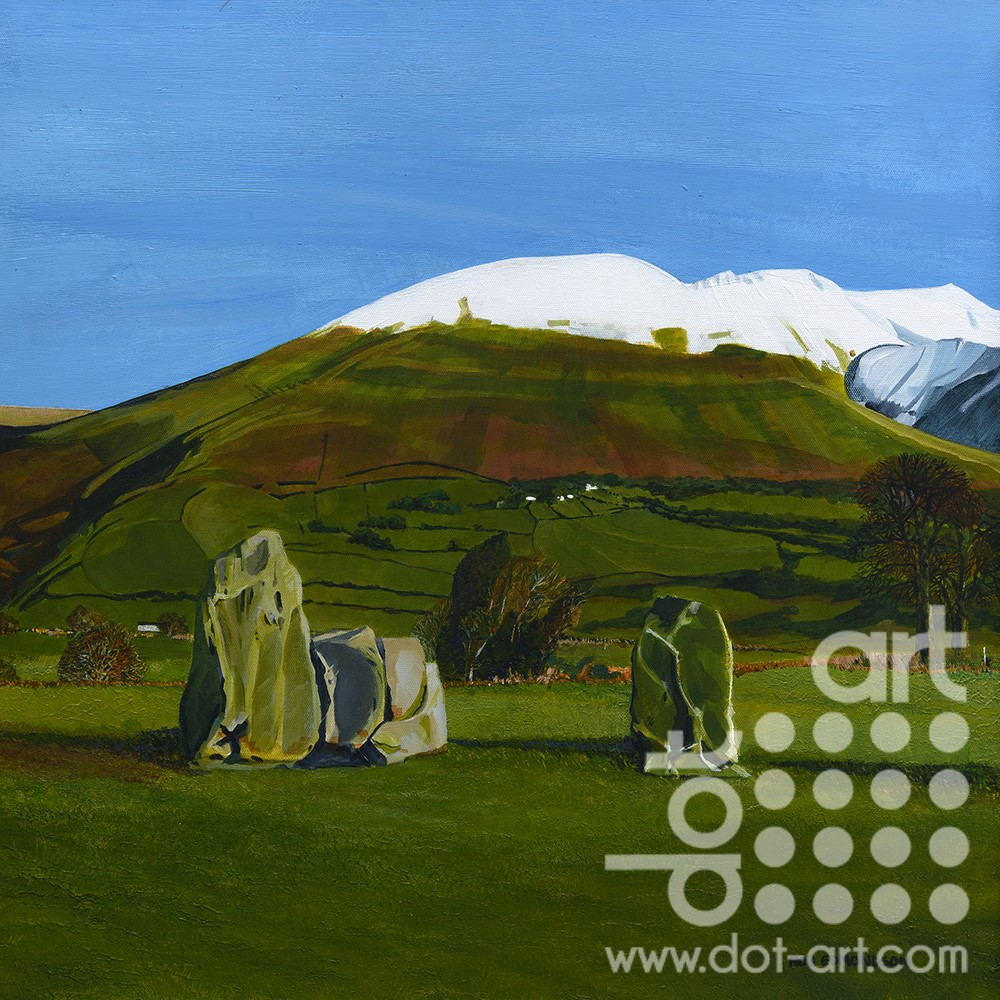 Blencathra From the Stones by Rob Edmondson