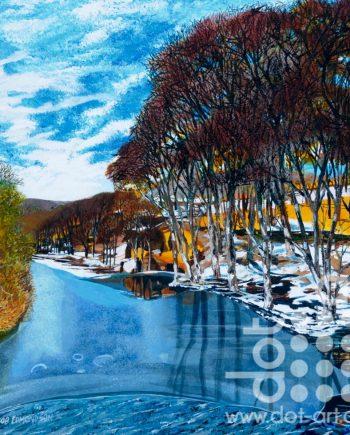Frozen Clough by Rob Edmondson