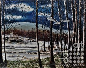 Frost at Midnight by Hazel Thomson