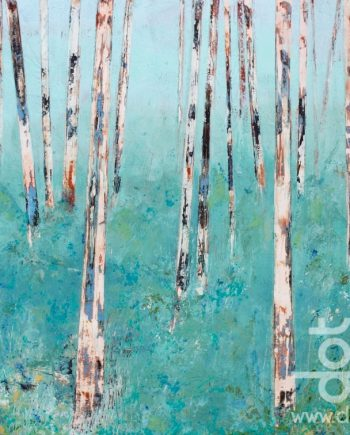 Summer Trees by Hilary Dron