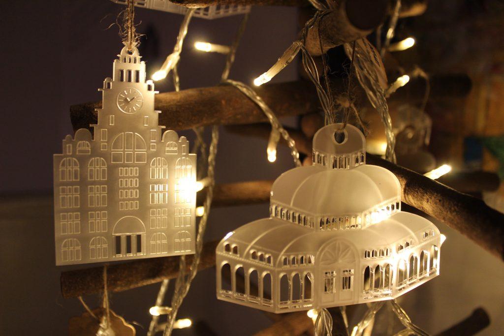 dot-art Christmas Baubles