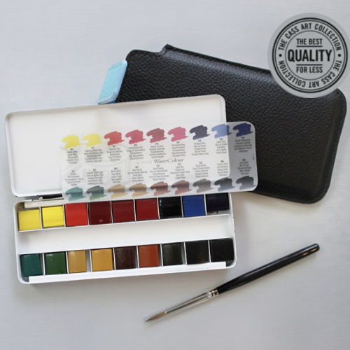 Cass Art Watercolour Travel Set