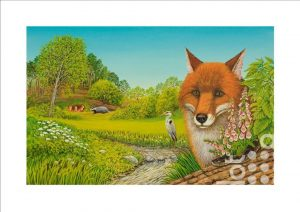 Fox Forest by Frances Broomfield