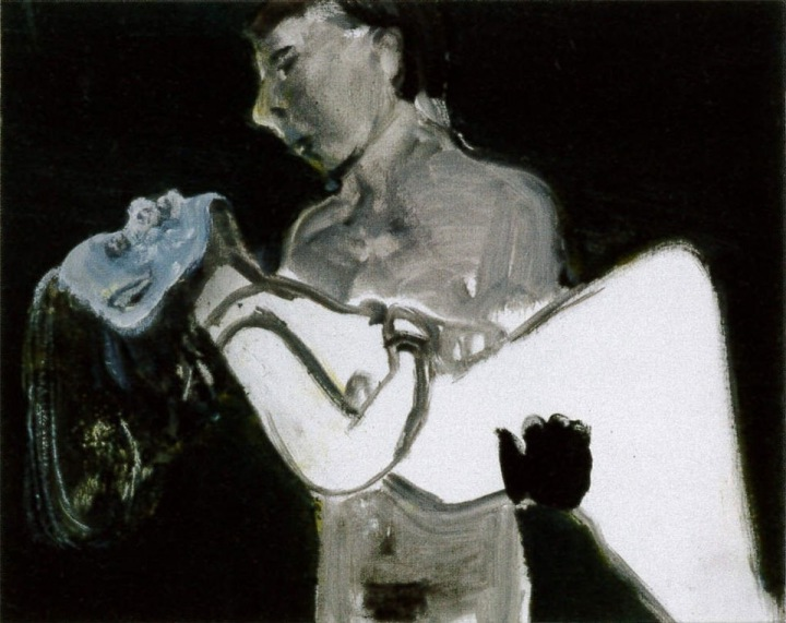 The Image as Burden by Marlene Dumas
