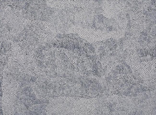 White Infinity Nets by Yayoi Kusama