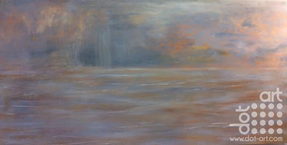 Barmouth - Seascape by Dorothy Benjamin