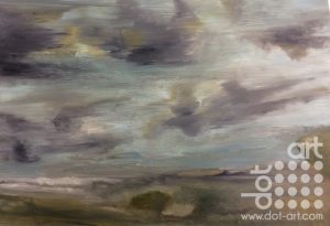 Big sky, Aberdyfi by Dorothy Benjamin