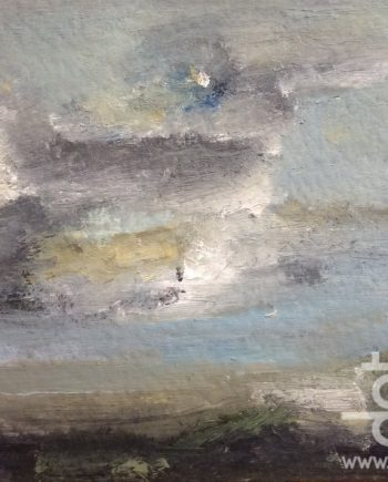 Clouds and sea, North Wales by Dorothy Benjamin