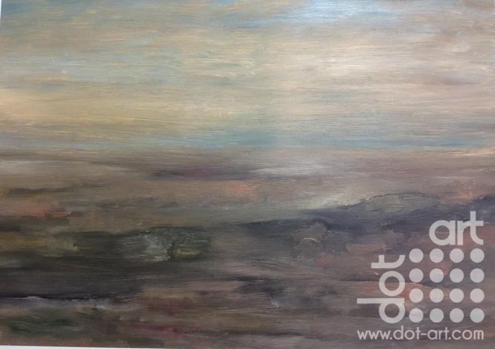 Edge, Derbyshire by Dorothy Benjamin