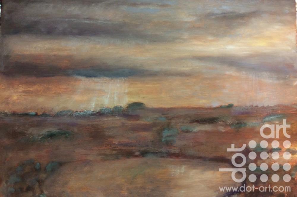 Moorland Lyn, North Wales by Dorothy Benjamin