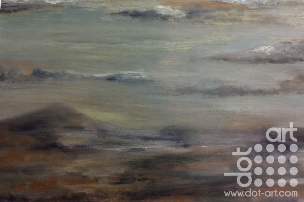Mountain 2 – North Wales by Dorothy Benjamin