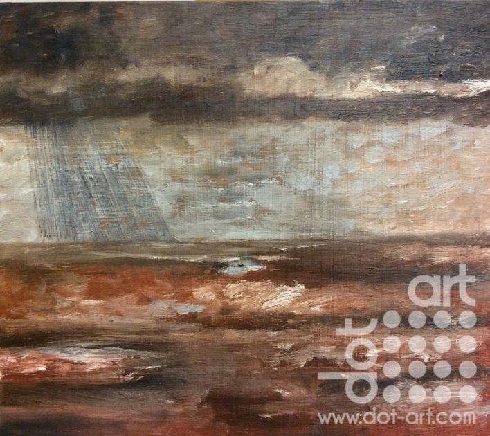 Storm, Barmouth by Dorothy Benjamin