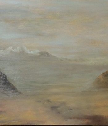 Two Headlands, Anglesey by Dorothy Benjamin