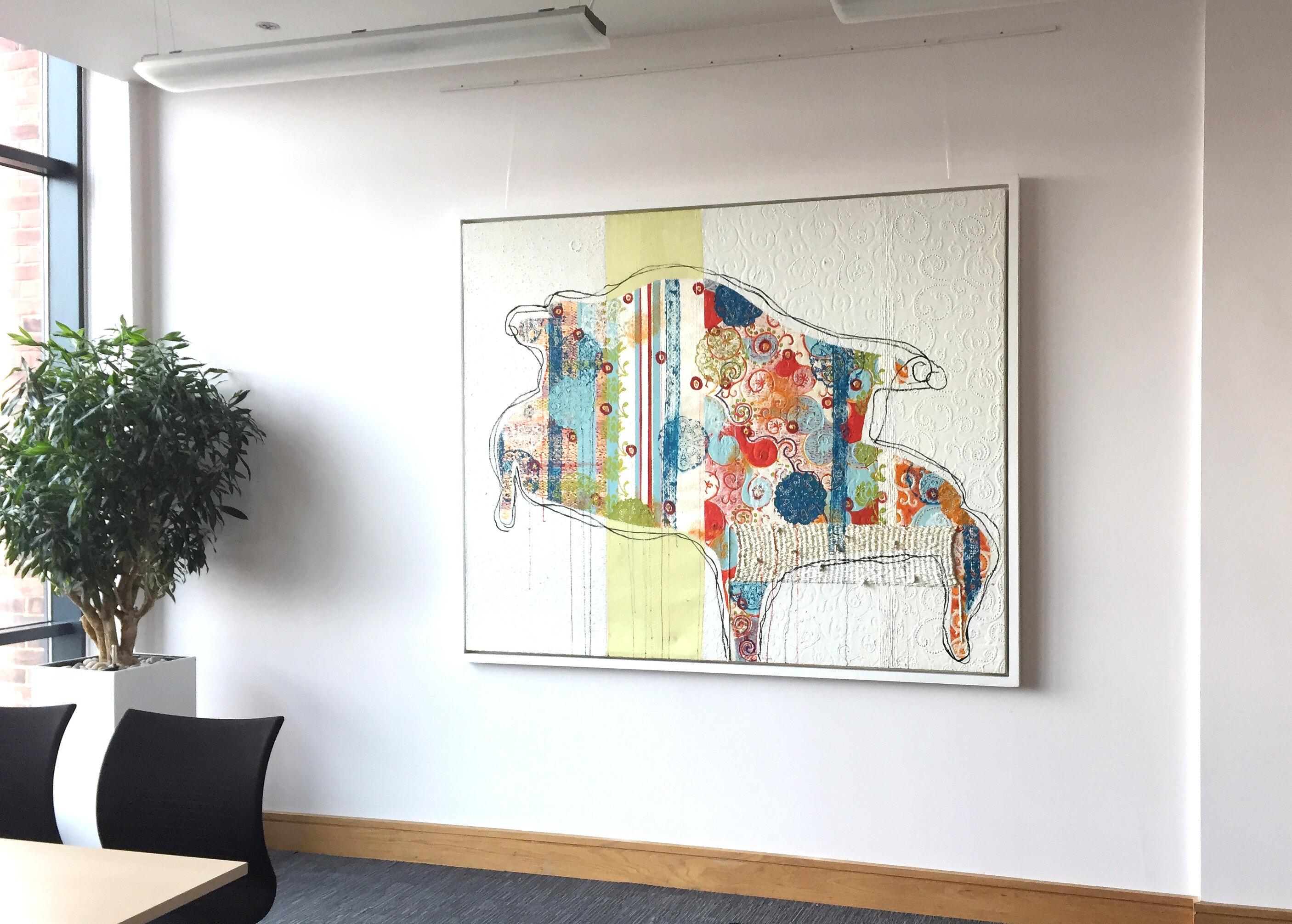 dot-art at The Women's Organisation