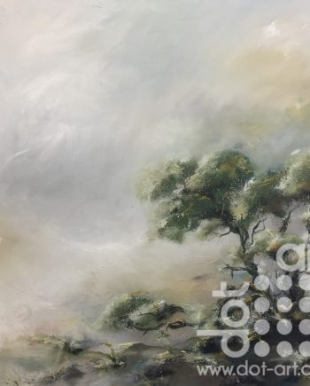 Reflective Landscape II by Amanda Oliphant