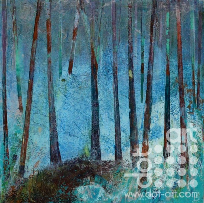 Blue Wood by Hilary Dron