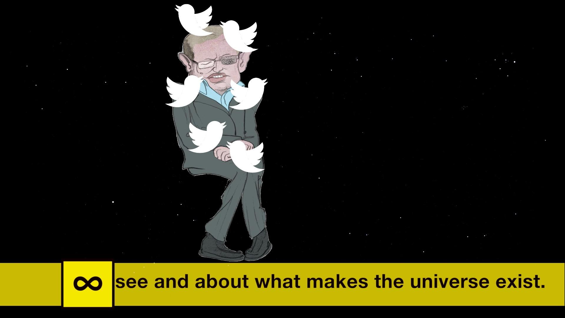 Stephen Hawking by Phil Disley