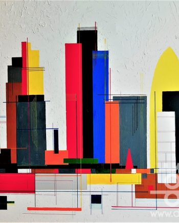 Square Mile by dot-art artist Mike Rickett