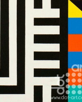 Colour Black White Composite 11 by John Petch